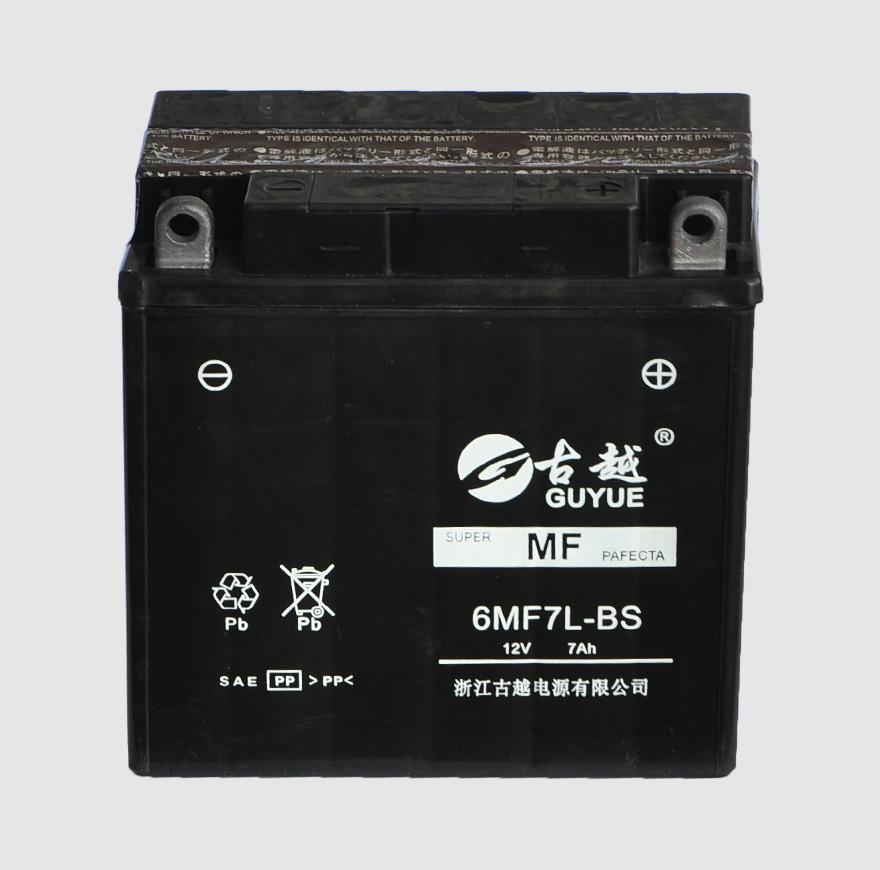 摩托车电池 6MF7L-BS