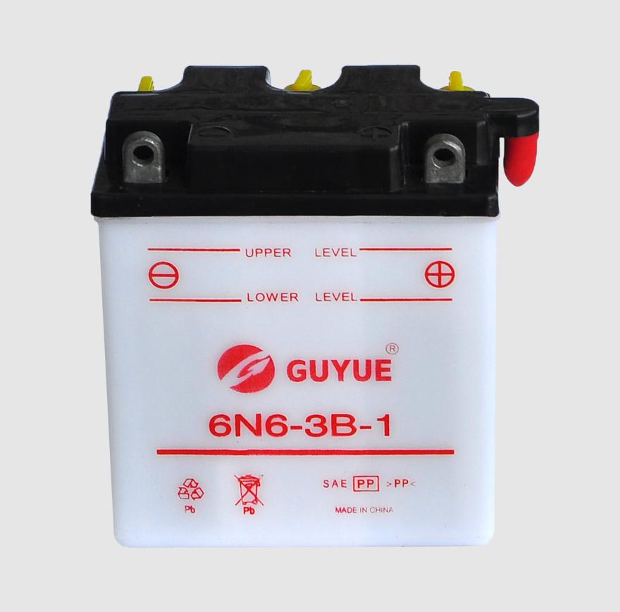 摩托车电池 6N6-3B-1