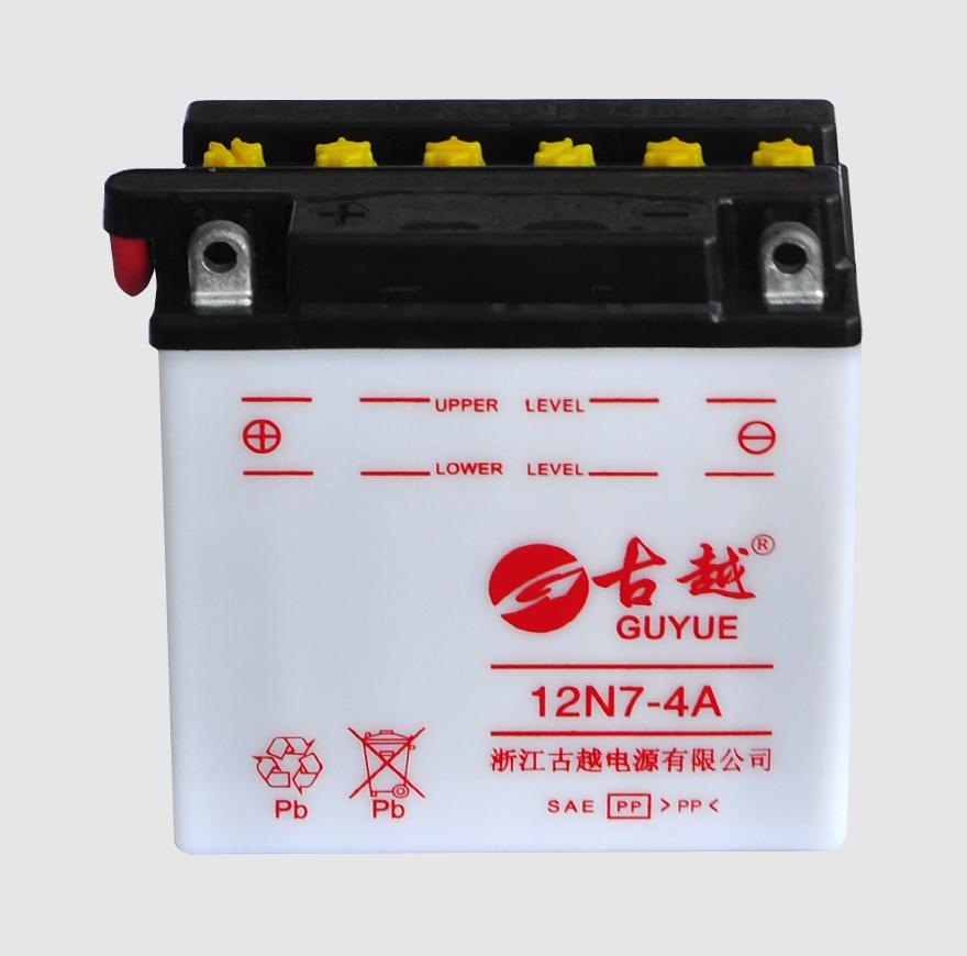 摩托车电池 12N7-4A