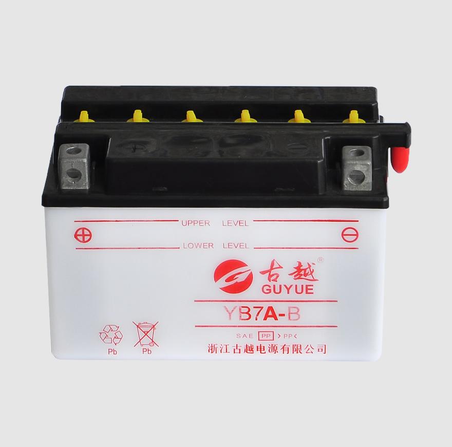 摩托车电池 YB7A-B