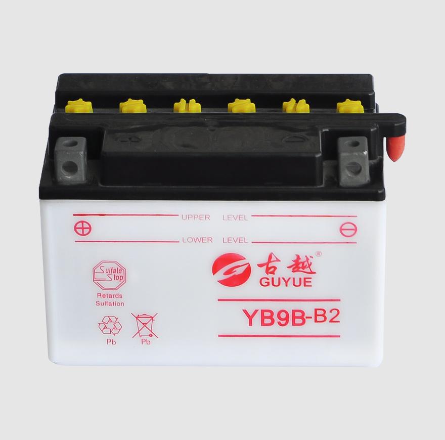 摩托车电池 YB9B-B2