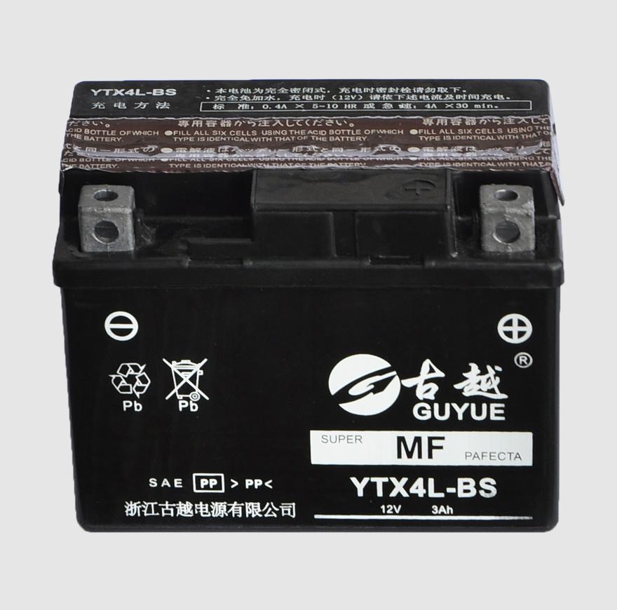 摩托车电池 YTX4L-BS