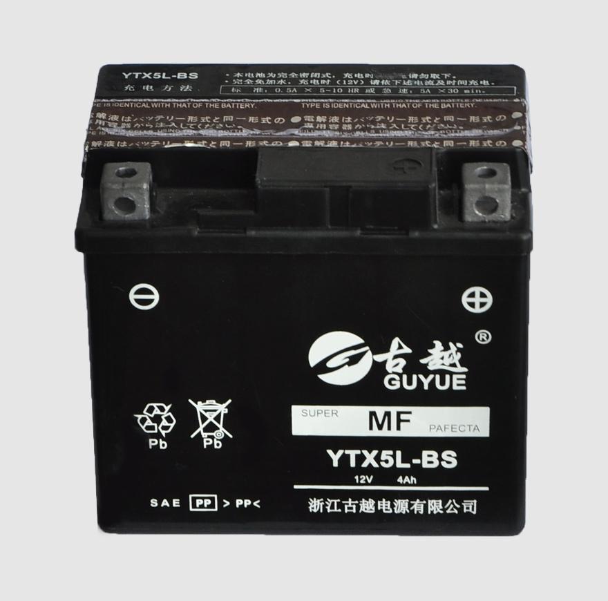 摩托车电池 YTX5L-BS