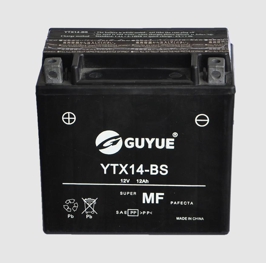 摩托车电池 YTX14-BS