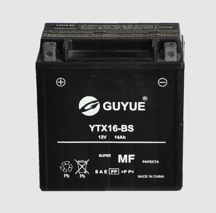 摩托车电池 YTX16-BS