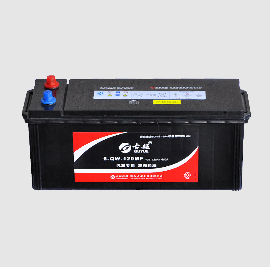 日标汽车电池 6-QW-120
